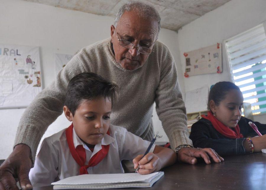 sancti spiritus, educacion, enseñanza primaria, taguasco, grupos multigrados