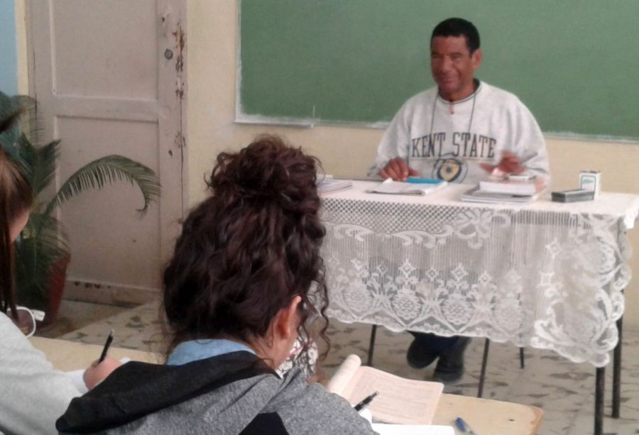 sancti spiritus, educacion, ipvce eusebio olivera, historia