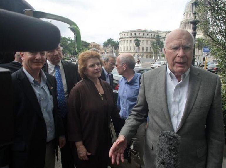 Patrick Leahy, Cuba, EE.UU.