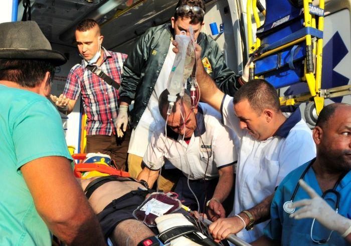 sancti spiritus, accidentes de tranasito, sium, sistema integrado de urgencias medicas, hospital provincial camilo cienfuegos
