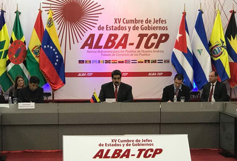 venezuela, hugo chavez, XV cumbre del alba-tcp, nicolas maduro