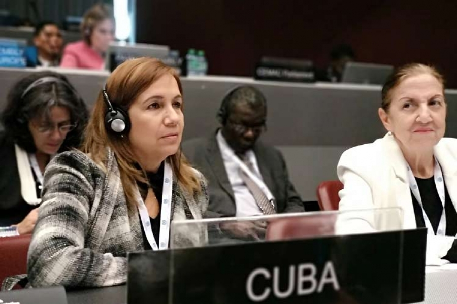 Cuba, Unión Interparlamentaria