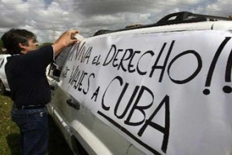 EE.UU., Cuba, protesta, Miami, embajada