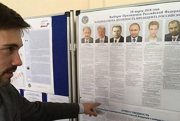 rusia, elecciones en rusia 2018