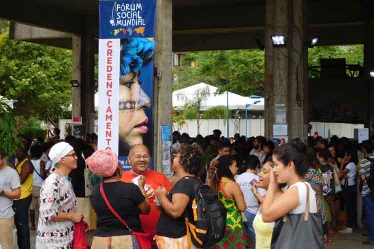 Foro Social Mundial, bloqueo, Cuba, Estados Unidos