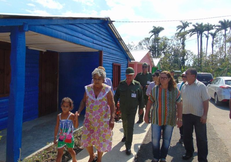 yaguajay, petrocasas, huracan irma, construccion de viviendas, ramon pardo guerra, estado mayor nacional de la defensa civil, seibabo