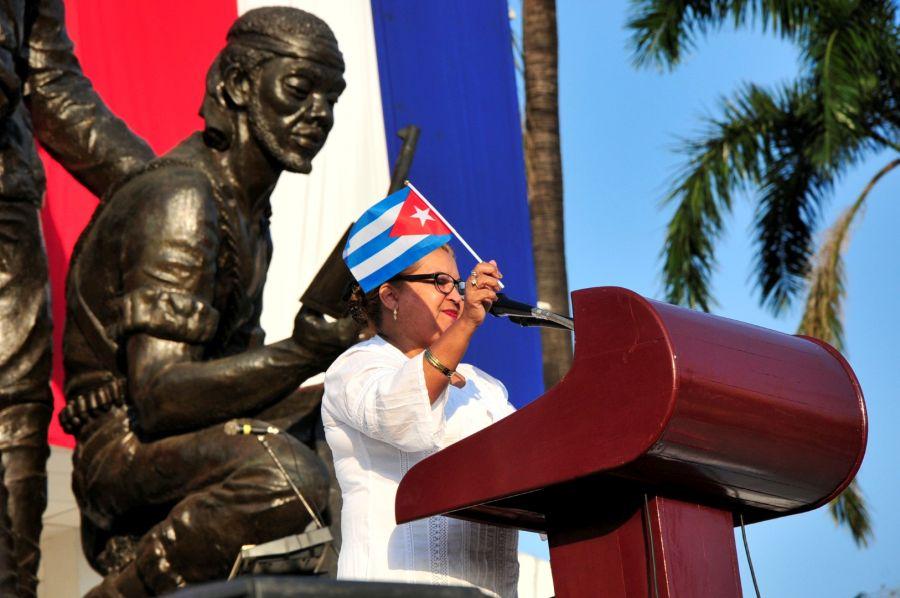 sancti spiritus, dia internacional de la mujer, fmc, federacion de mujeres cubanas, X congreso de la fmc
