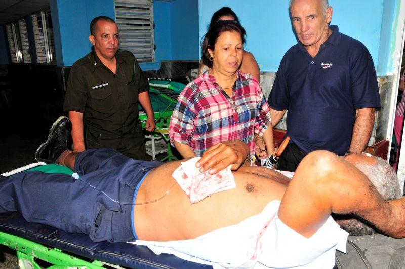 sancti spiritus, accidente de transito, muertos, lesionados, cabaiguan, hospital provincial camilo cienfuegos