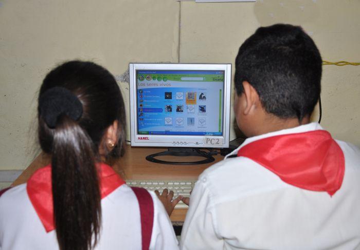 cuba, educacion, unesco, portal web cubaeduca, joven club de computacion