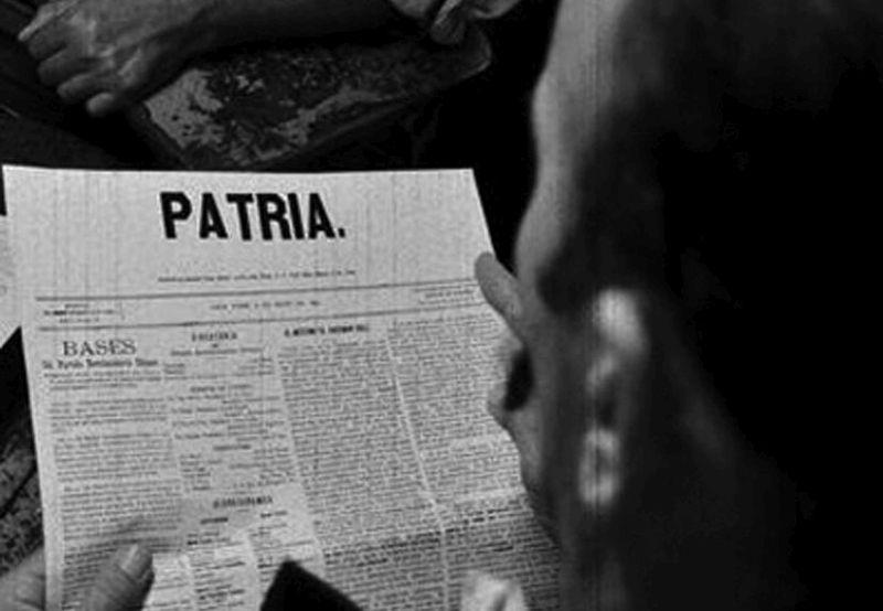 cuba, periodico patria, jose marti, dia de la prensa cubana, partido revolucionario cubano