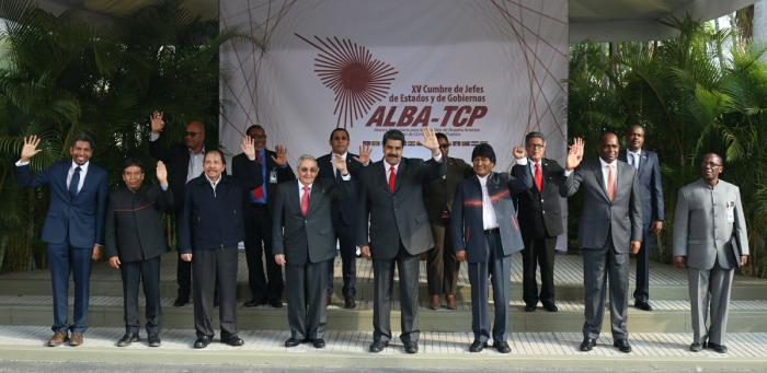 venezuela, hugo chavez, XV cumbre del alba-tcp