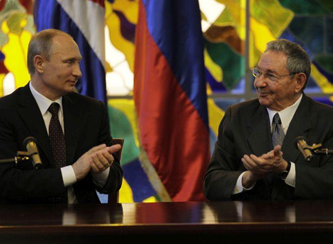 cuba, rusia, elecciones presidenciales en rusia, vladimir putin, raul castro