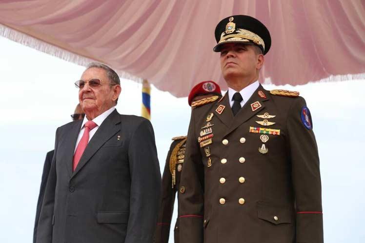 venezuela, cuba, raul castro, caracas, XV cumbre del alba-tcp