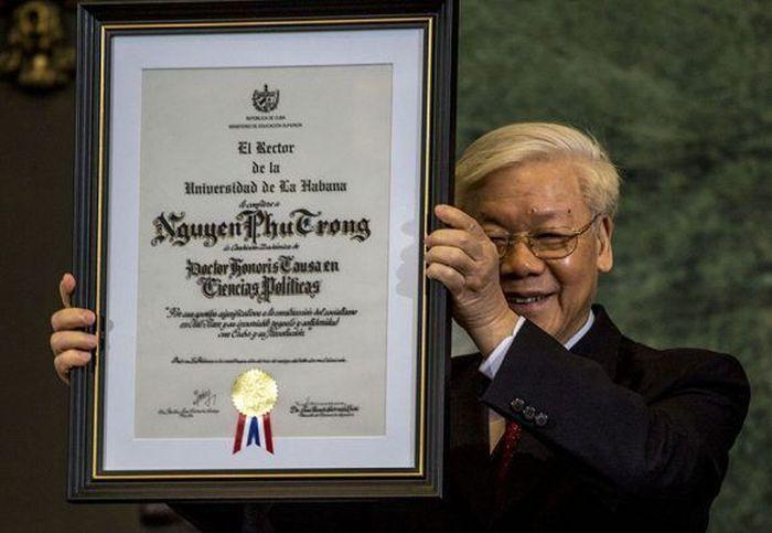 cuba, vietnam, honoris causa, universidad de la habana, partido comunista de vietnam