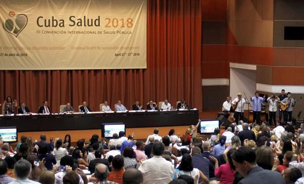 salud, Cuba, convención