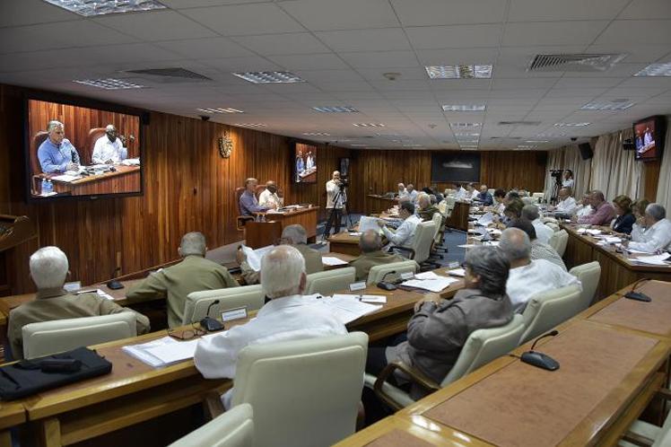 Cuba, Consejo de Ministros, Díaz Canel
