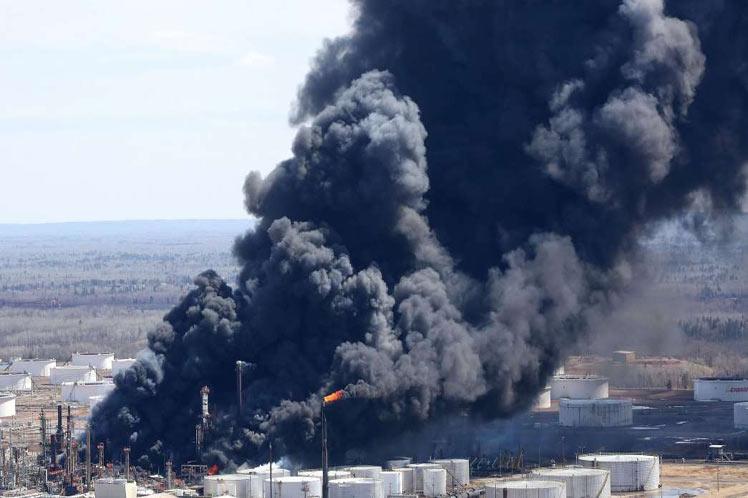 Estados Unidos, refinería, accidente, explosión