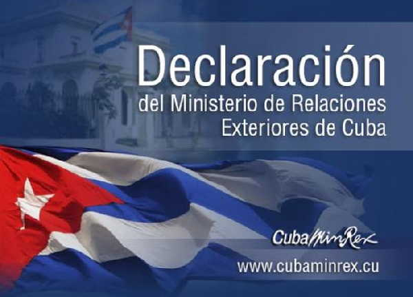 cuba, canada, minrex, ministerio de relaciones exteriores