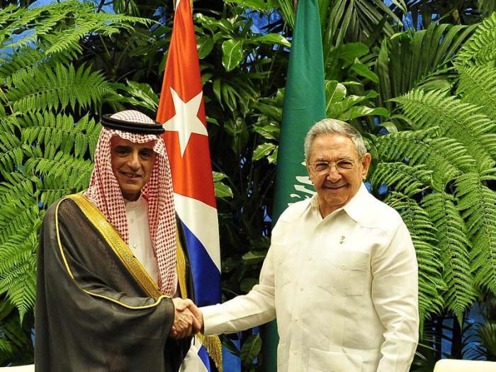 Cuba, Arabia Saudita, Raúl Castro