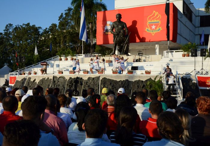 sancti spiritus, 4 de abril, union de jovenes comunistas, ujc, organizacion de pioneros jose marti, opjm