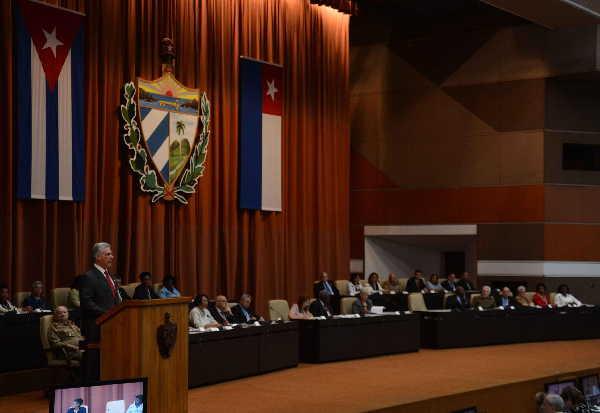 cuba, consejo de estado, miguel diaz-canel bermudez, asamblea nacional del poder popular