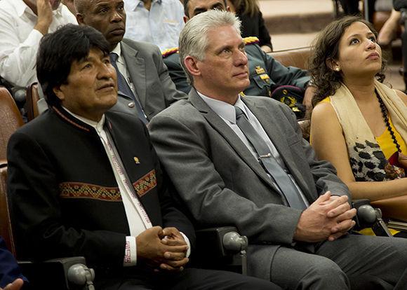 Cuba, Bolivia Evo Morales, Miguel Díaz Canel