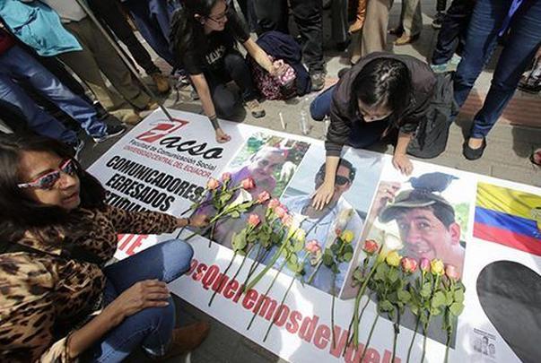 ecuador, periodistas, asesinatos, colombia