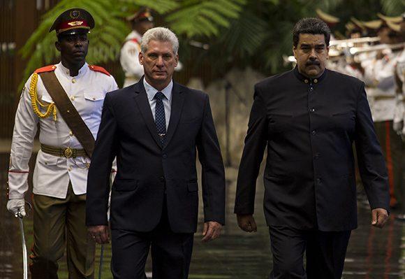 Díaz Canel, Nicolás Maduro, Cuba, Venezuela