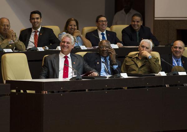 cuba, revolucion cubana, miguel diaz-canel, salvador valdes mesa, consejo de estado
