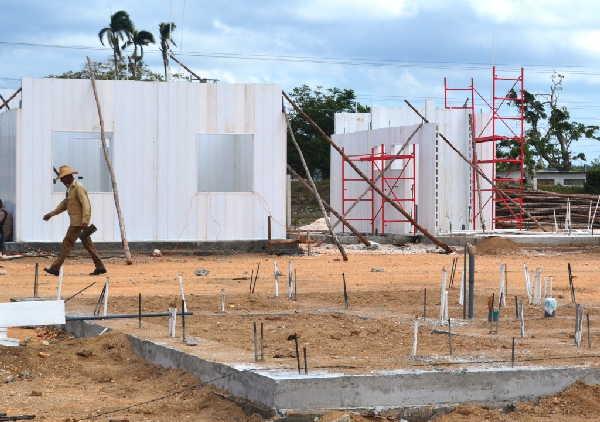 sancti spiritus, huracan irma, asamblea provincial del poder popular, materiales de la construccion