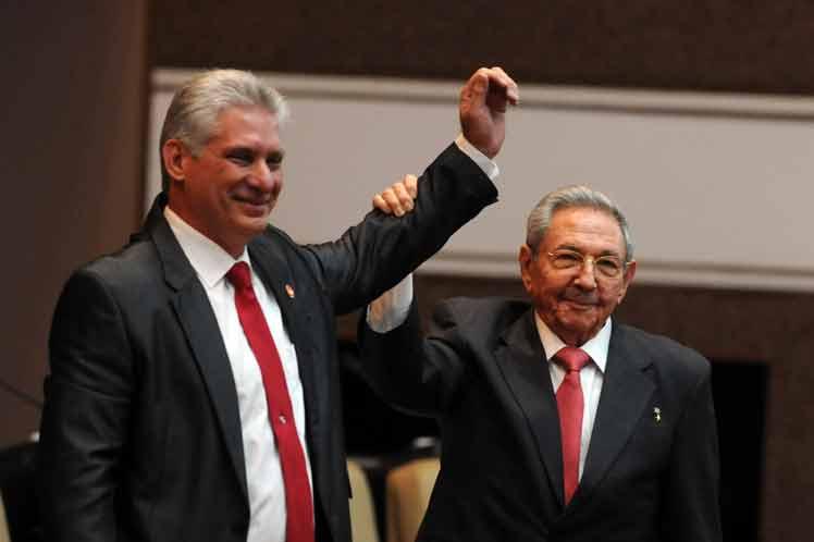 Díaz-Canel, Raúl Castro, presidente, Cuba