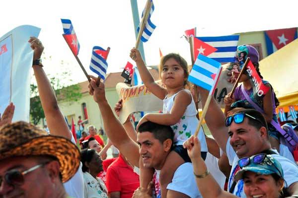 primero de mayo, 1 mayo, sancti spíritus, día del proletariado, Cuba