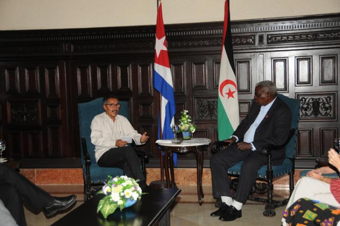 cuba, parlamentocubano, esteban lazo, parlamento saharaui
