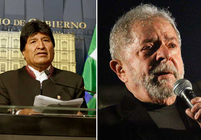 brasil, elecciones en brasil, luiz inacio lula da silva, evo morales