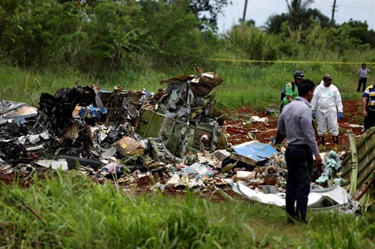 Cuba, accidente aéreo, caja negra
