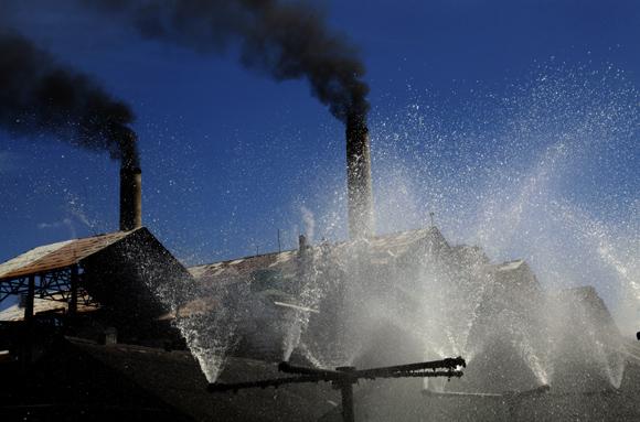 contaminacion, central Uruguay, Sancti Spíritus, medio ambiente