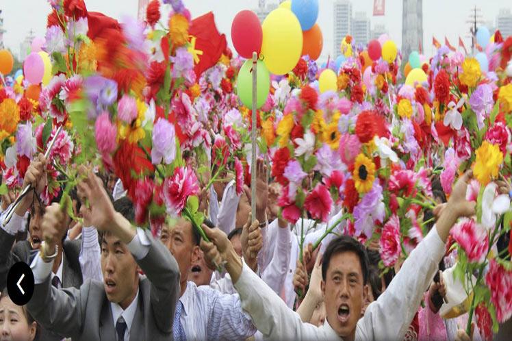 Corea, paz, Primero de mayo