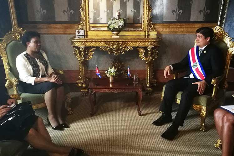Cuba, Costa Rica, presidente, Inés María Chapman