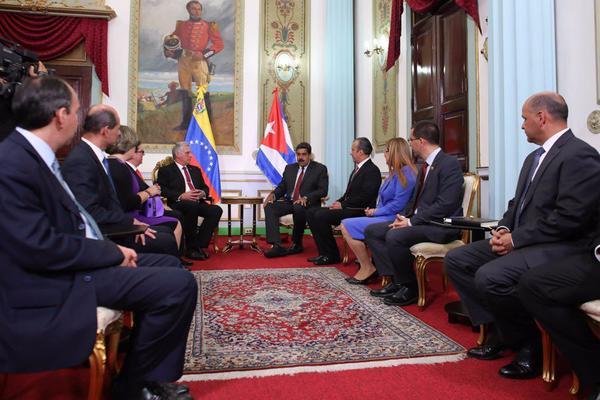 Nicolás Maduro, Díaz-Canel, Cuba, Venezuela