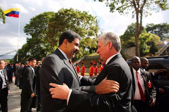 Cuba, Venezuela, Díaz-Canel, Nicolás Maduro