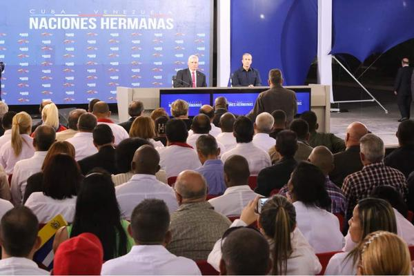 Venezuela, Díaz-Canel, Caracas, colaboradores