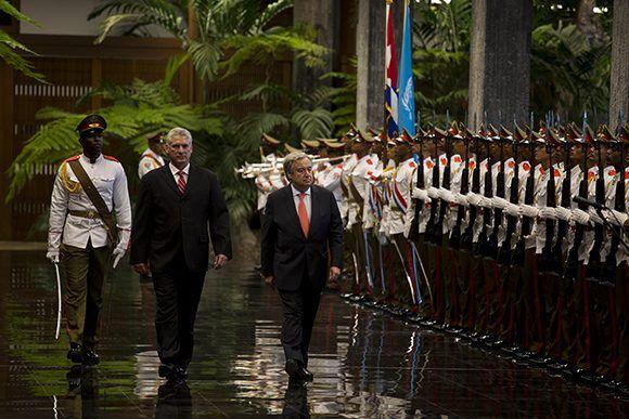 Cuba, Díaz-Canel, ONU, Antonio Guterres, Cepal