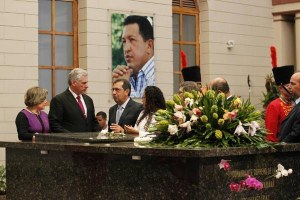 Díaz-Canel, Hugo Chávez, Venezuela, Cuba