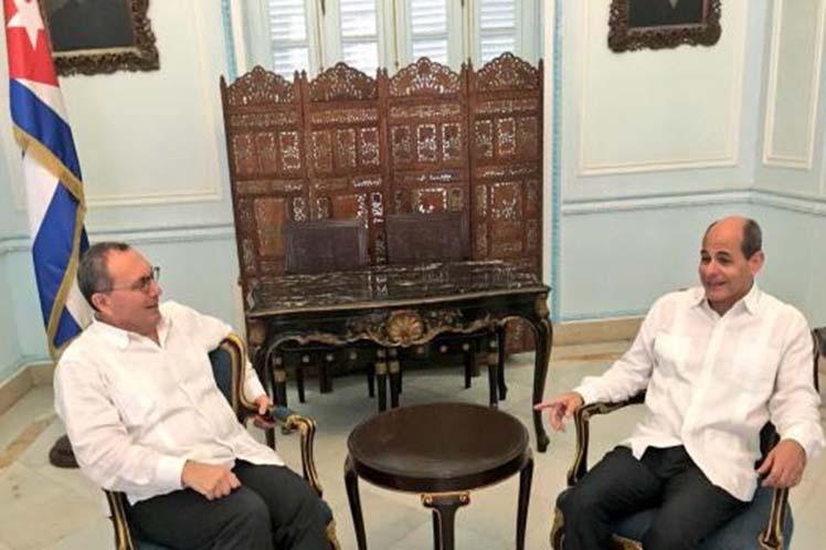 Cuba, Unión Europea. MINREX