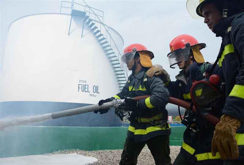 Metero 2018, bomberos, incendios, defensa civil, Sancti Spíritus