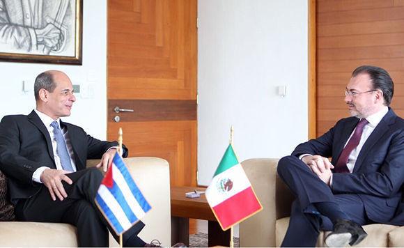 Cuba, México, canciller, relaciones