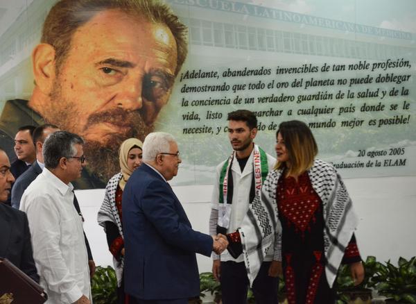 Cuba, Palestina, Mahmoud Abbas, ELAM