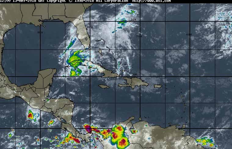 Meteorología, Cuba, lluvias