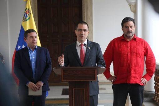 Venezuela, Estados Unidos, sanciones, Jorge Arreaza