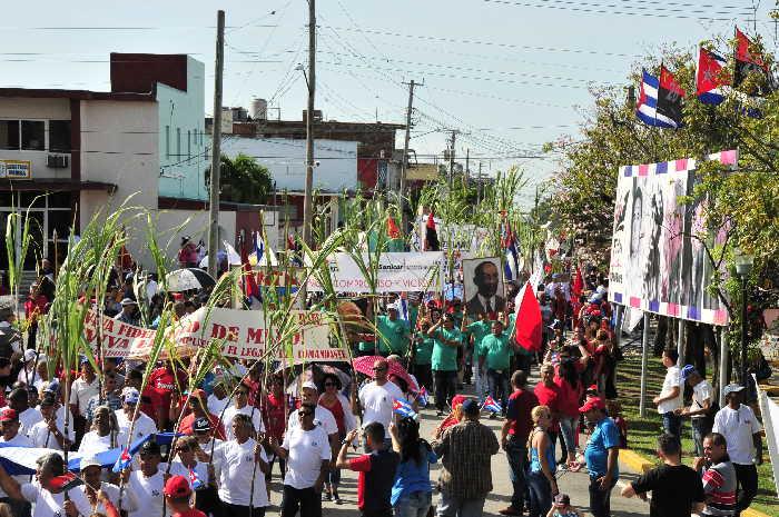 sancti spiritus, primero de mayo, dia internacional de los trabajadores, salud, primero de mayo en sancti spiritus